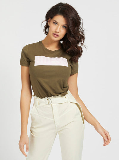 Guess Adria T-Shirt - Army Sage