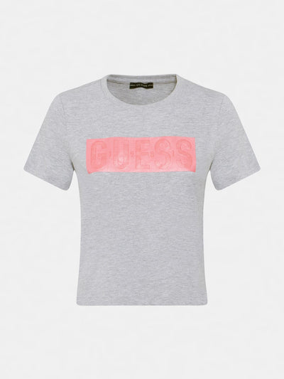 Guess Adria T-Shirt - Light Melange Grey