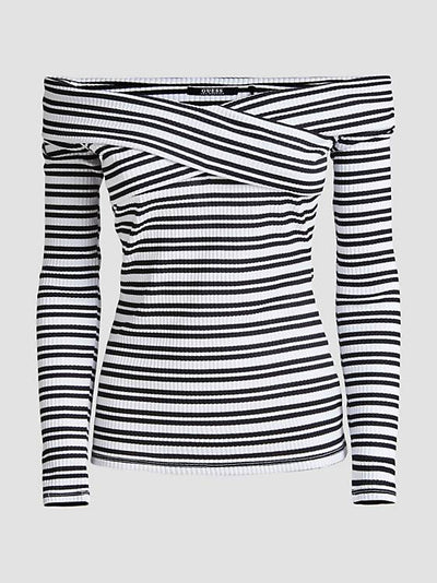 Guess Emiliane Top - White Multi
