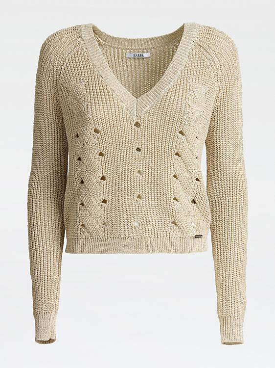 Guess Cristyn Cut Out Detail Sweater - Safari Road