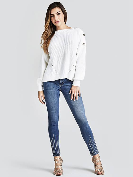Guess Giada Sweater - White
