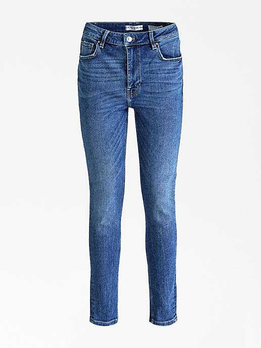 Guess Super Highrise Jeans With Paisley Print Bandana - Santa Monica