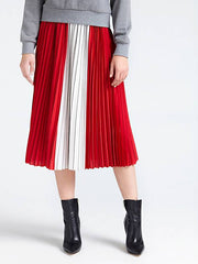 Guess Savina Skirt - Red/White Print Combo