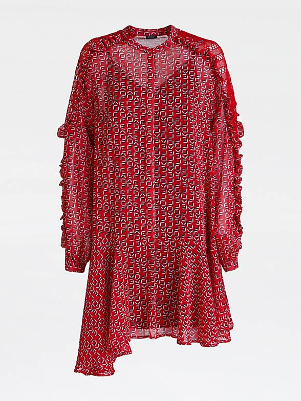 Guess Reanna Dress - Love Red Combo