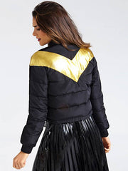 Guess Laurie Jacket - Black/Gold Combo