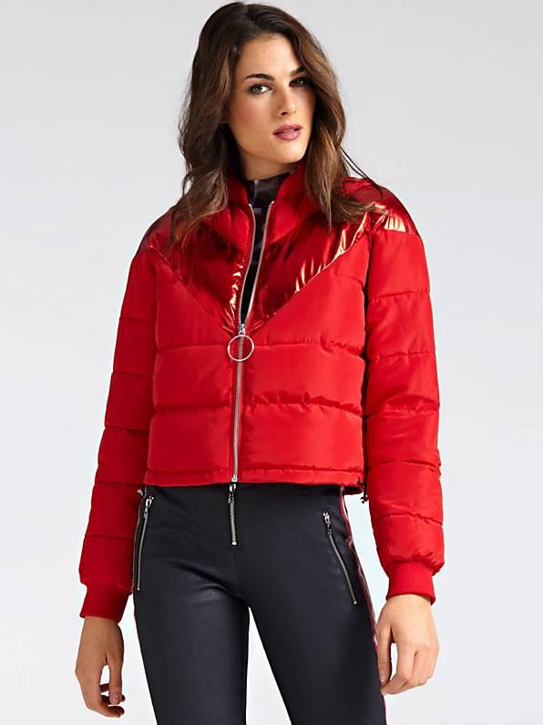 Guess Laurie Jacket - Red Attitude