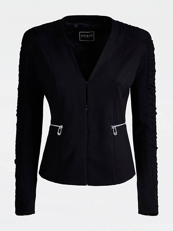 Guess Aba Jacket - Jet Black