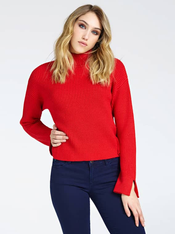 Guess Milena Sweater - Red Hot