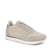Woden Ydun Suede Trainer - Clouds