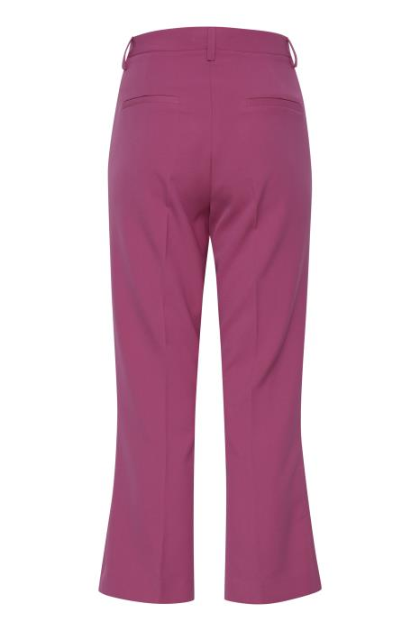 Lexi Cropped Trousers - Fuschia Red
