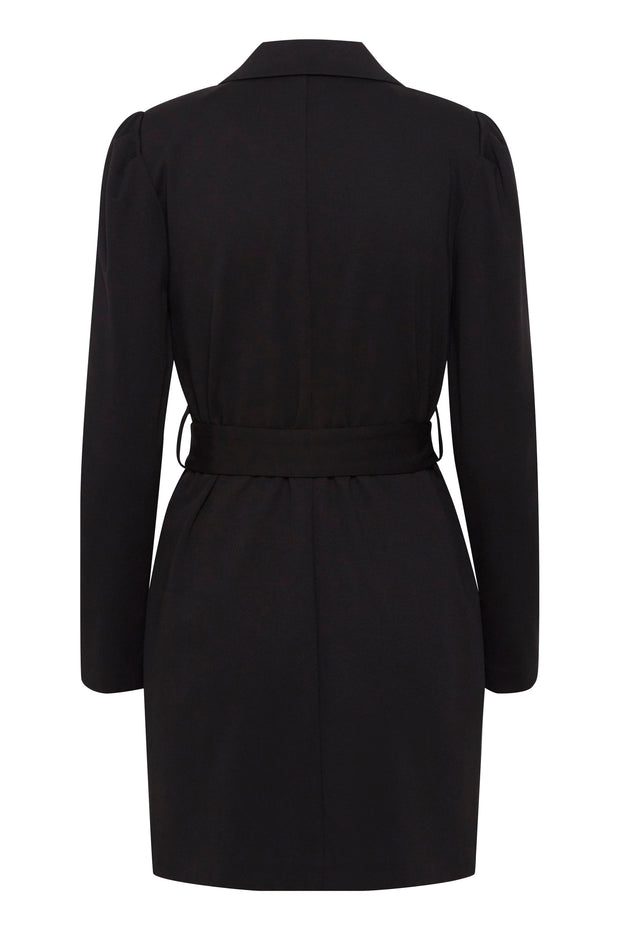 Kate Blazer Dress - Black