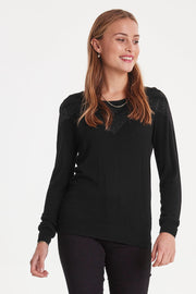 Gaby Long Sleeve Jumper - Black