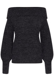 Myra Long Sleeve Jumper - Black