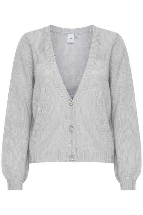 Taurel Cardigan - Grey Melange