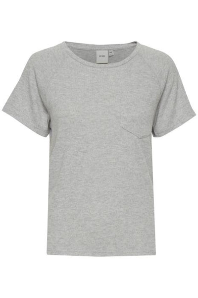 Yose T-Shirt - Grey Melange