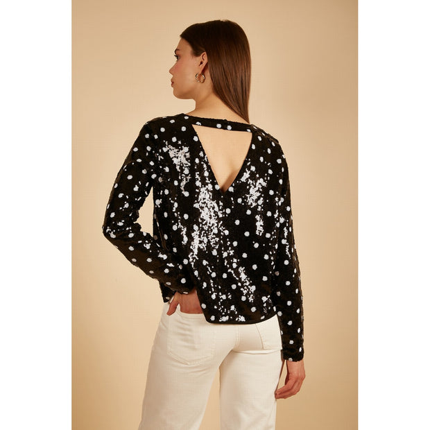 Cansel Blouse - Black