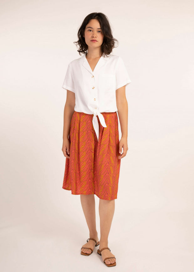 Calanthe Shirt - White