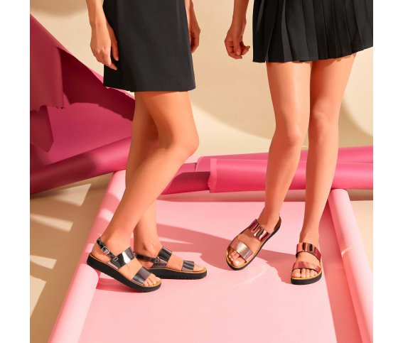 Cynthia Sandal - Rose Gold