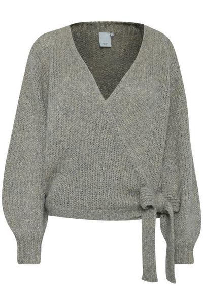Ines Cardigan - Feather Grey