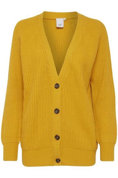 Caluha Cardigan - Old Gold