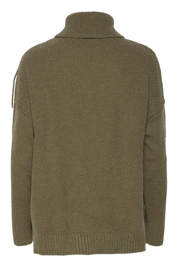 Marissa Sweater - Deep Lichen Green