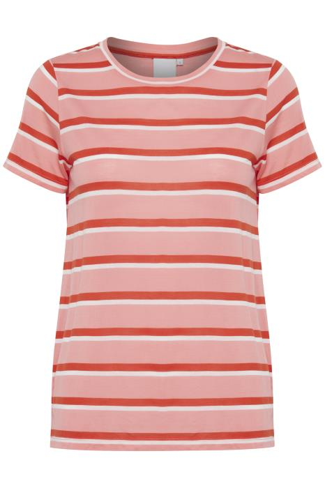 Cadis Short Sleeve T-Shirt - Salmon Rose