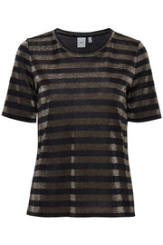 Isobel Short Sleeve T-Shirt - Gold