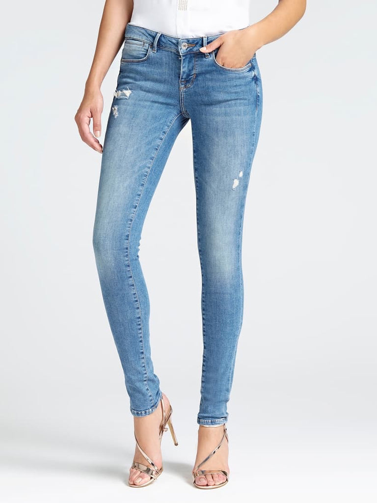 Guess Ultra Skinny Low Jegging - Bamboo