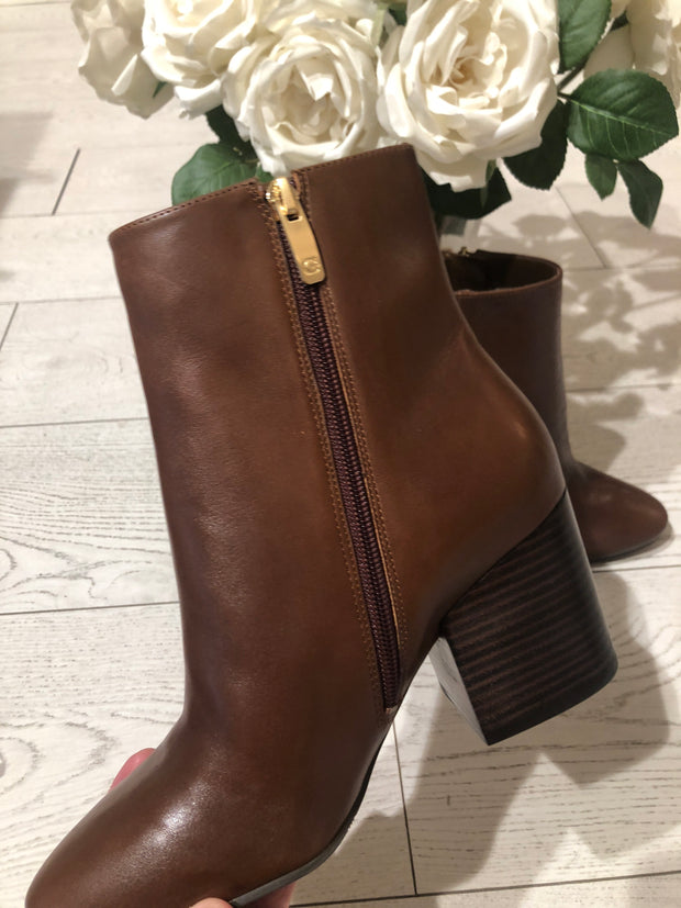 Guess Coleta Stivaletto Boot - Meduim Brown