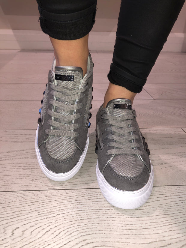 Guess Gallina Active Lady Fabric Sneaker - Silver