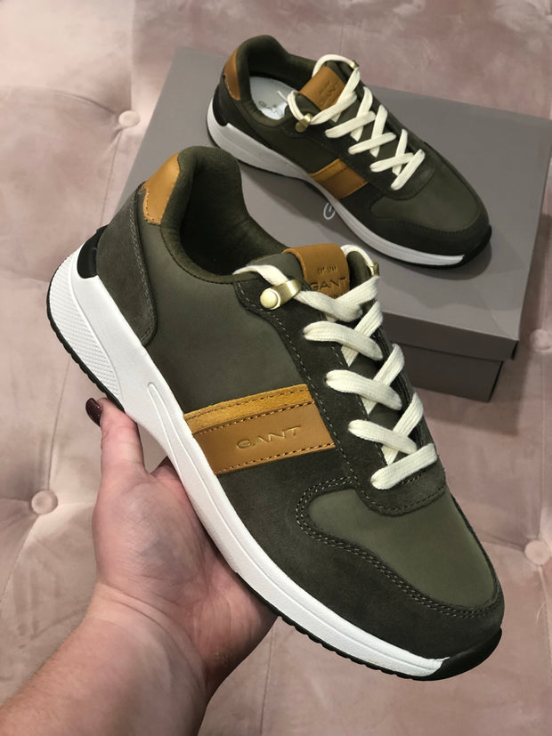 Gant Delyn Runners - Dark Olive