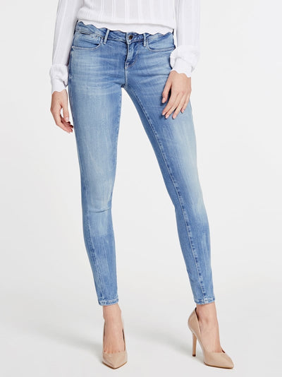 Guess Ultra Skinny Low Jegging - Eco Feather Light