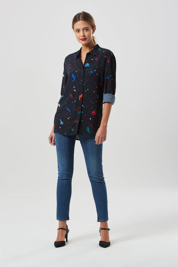 Joy Cosmic Shirt - Black/Multi