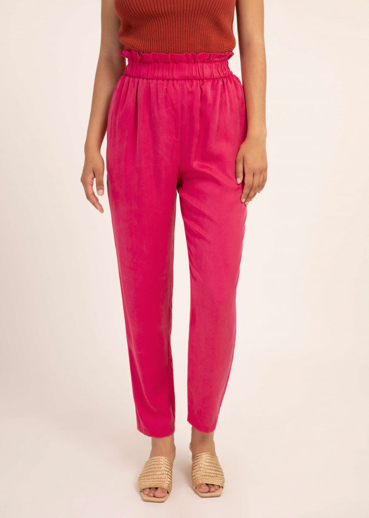Phanelie Trousers - Fuchsia