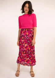 Naly Sweater - Fuchsia