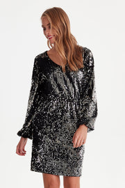 Wilde Dress - Silver Sparkle