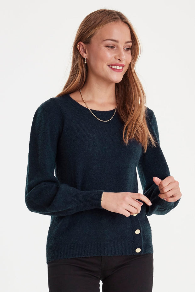 Ganya Long Sleeve Jumper - Total Eclipse