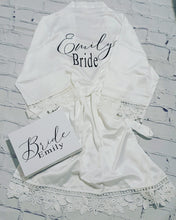 Load image into Gallery viewer, Bride & bridesmaid gift box package