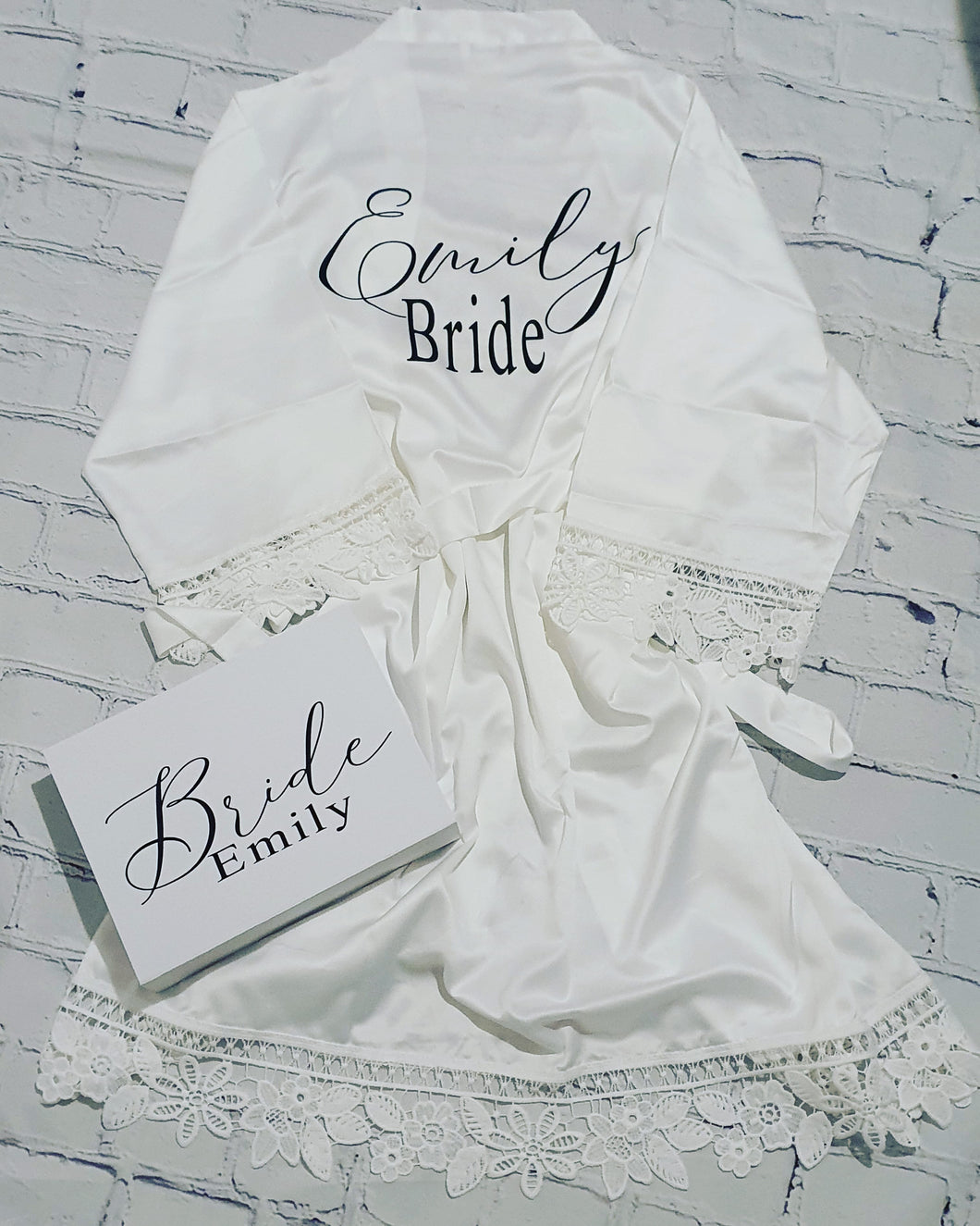 Bride & bridesmaid gift box package