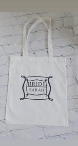 Tote bags frame design