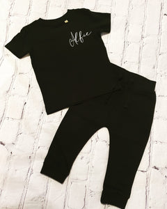 Tracksuit t-shirt set