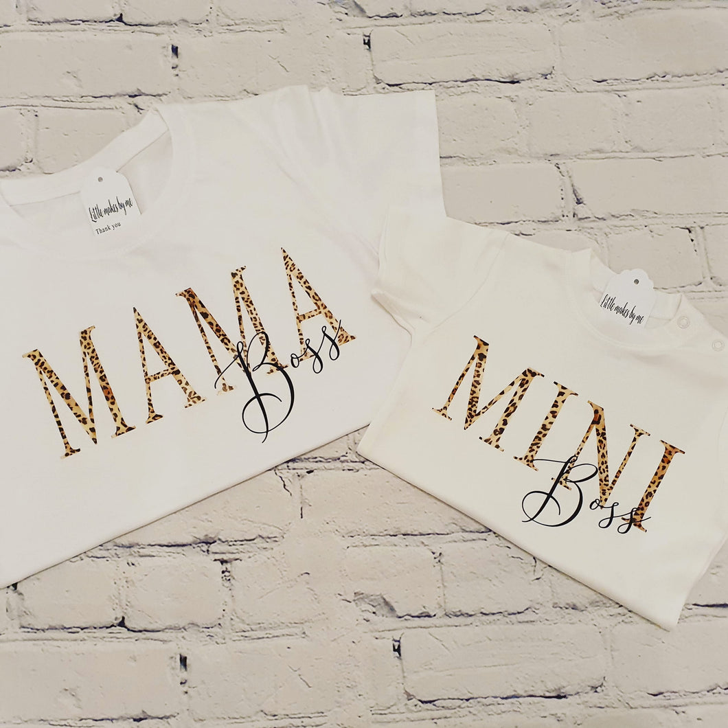 Mini & me matching t-shirts