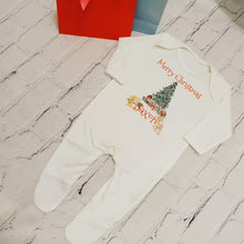 Load image into Gallery viewer, Christmas baby onesie