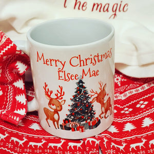 Christmas mug personalised