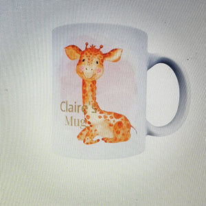 Personalised safari mug