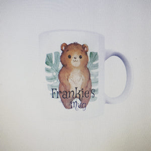 Personalised woodland mug
