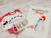 Load image into Gallery viewer, Christmas penguin bag