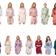 Load image into Gallery viewer, Personalised lace robes Leanne style
