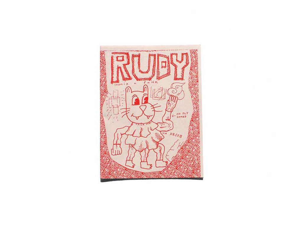 Rudy zine by Mark Connery
