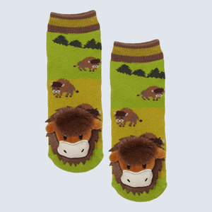 Bison Charm Socks
